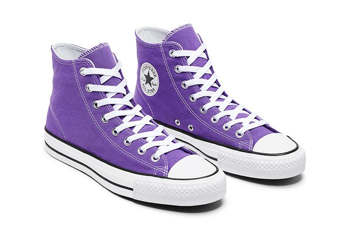 Converse USA Inc. CTAS Pro Hi Electric Purple