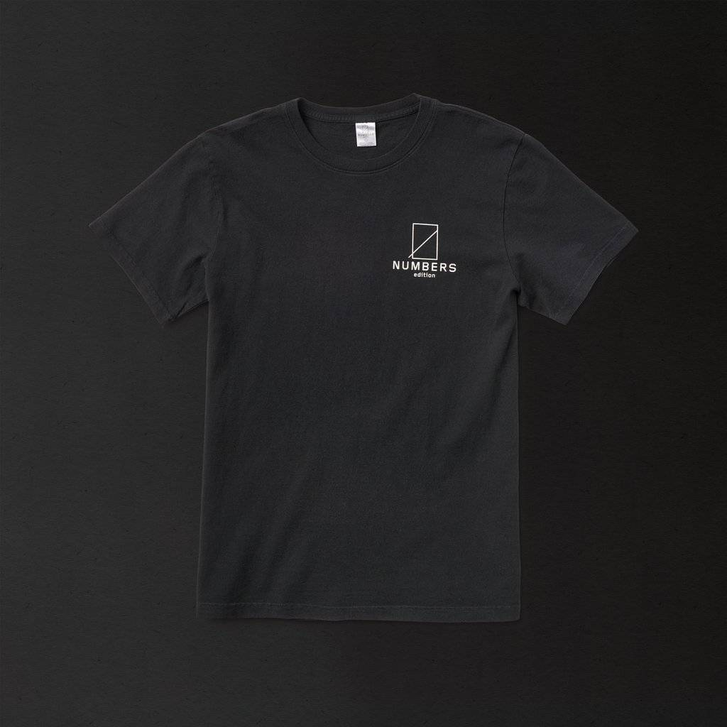 Numbers Edition 12:45 Angel S/S Black