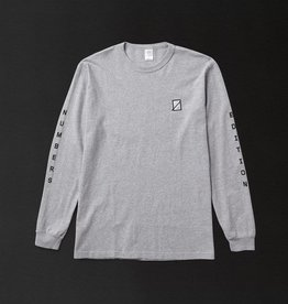 Numbers Edition Vertical Stack L/S Heather