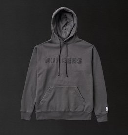 Numbers Edition Outline Wordmark Hood Charcoal