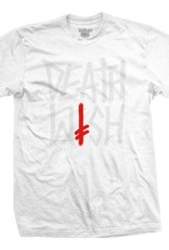 Deathwish Skateboards Deathstack OG White Tonal Tee