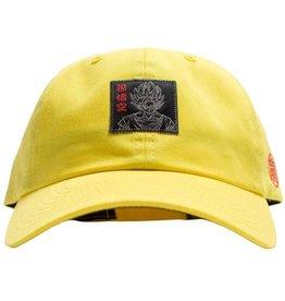 Primitive DBZ Goku Reflective Dad Hat Yellow