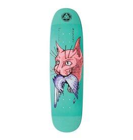 """Welcome Skateboards Miller Cat Gets Bird on Catblood 2.0 Teal Dip 8.75"""""""