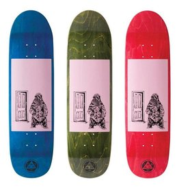 Welcome Skateboards Go Darker on Pysanka Pink/Stains 8.5""