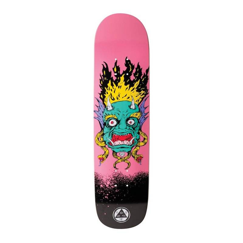 Welcome Skateboards Old Nick on Bunyip Pink 8.0""