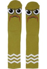 Toy Machine Turtleboy Stache Lime Sock