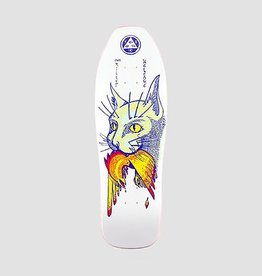 "Welcome Skateboards Miller Cat Gets Bird on Sugarcane White 10"""