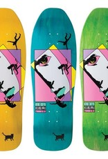 Welcome Skateboards Miller Faces on Sugarcane Various Stains 10""