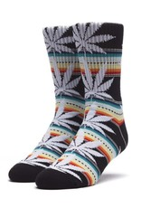 HUF Sarape Plantlife Sock Black