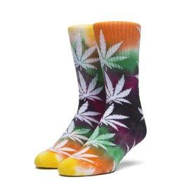 HUF Swirl Tye Die Plantlife Socks Multi