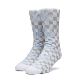 HUF Checkered Plantlife Socks White