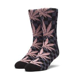 HUF Checkered Plantlife Socks Black