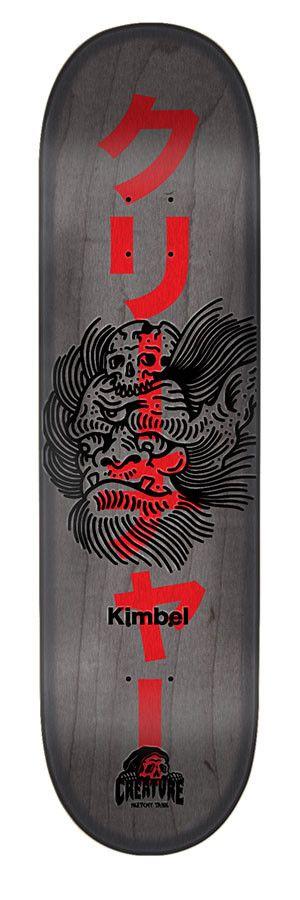 Creature Skateboards Sketchy Demons Kimbel 9.0