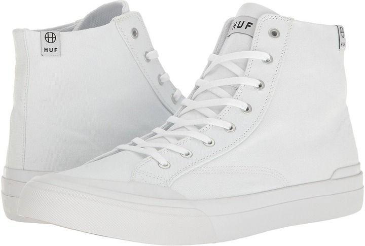 HUF Classic Hi Ess TX White 9.5