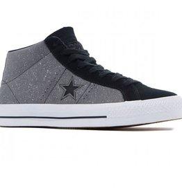Converse USA Inc. One Star Pro Suede Mid Mason/Black/White