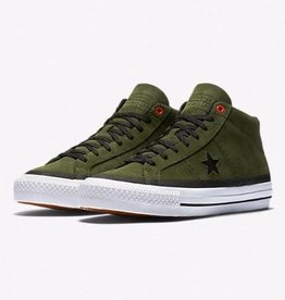 Converse USA Inc. One Star Pro Suede Mid Herbal/Black