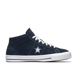 Converse USA Inc. One Star Pro Suede Mid Navy/White