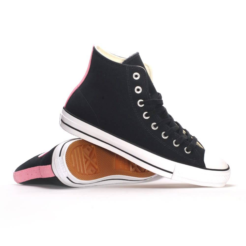 Converse USA Inc. CTAS Pro Hi Black/Pink