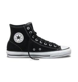 Converse USA Inc. CTAS Pro Hi Black/White Suede