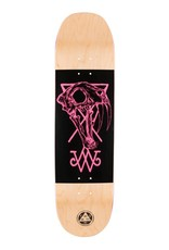 Welcome Skateboards Saberskull on Moontrimmer 2.0 Nat/Blk/Pnk 8.5""