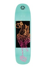 Welcome Skateboards Rubberneck on Son of Golem Teal Dip 8.75""