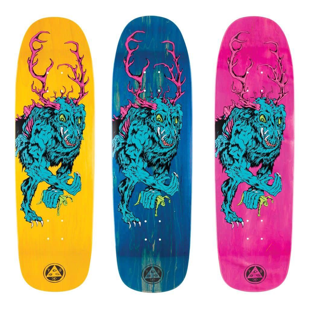 "Welcome Skateboards Wendigo on Golem Various 9.25"""