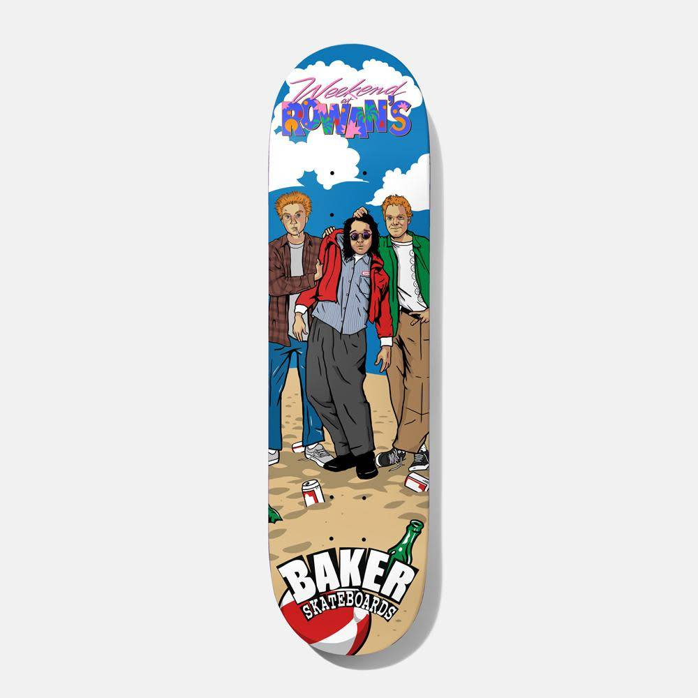 Baker Skateboards Weekend At Rowans RZ 8.0""