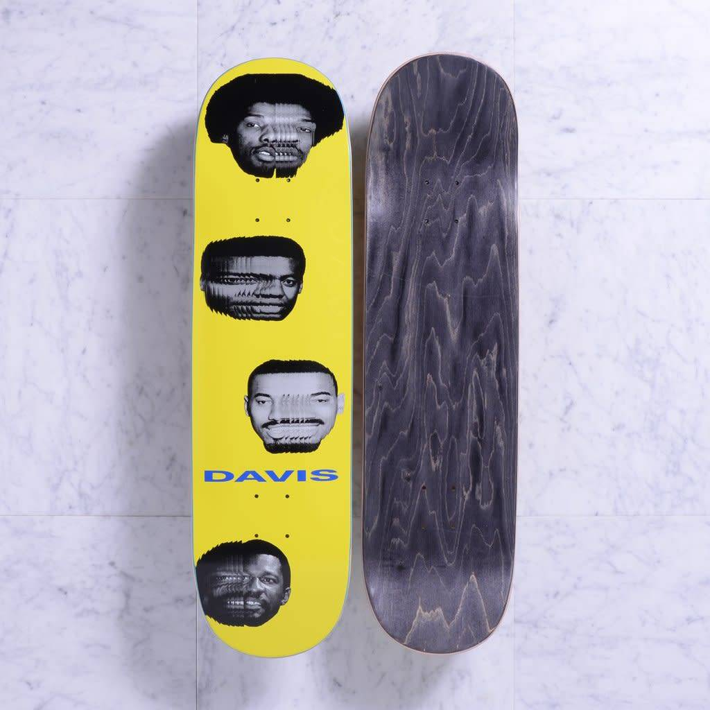 Quasi Skateboards Heads 8.5 Yellow