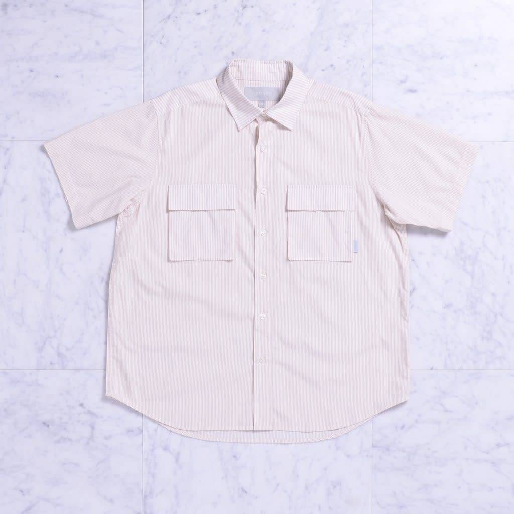 Quasi Skateboards Fred Button Up Tan