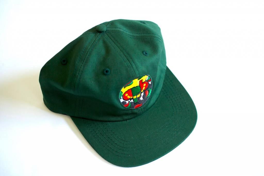 APB Skateshop APB x Hartsel Snapback Dark Green
