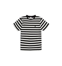 Good Worth & Co Bunny Stripe Tee Blk/Wht