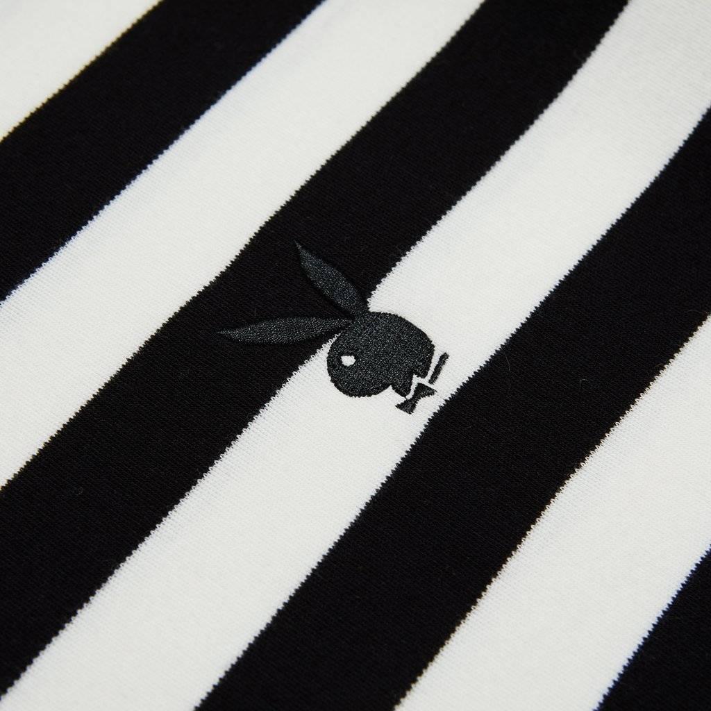 Good Worth & Co Bunny Stripe Tee Blk/Wht