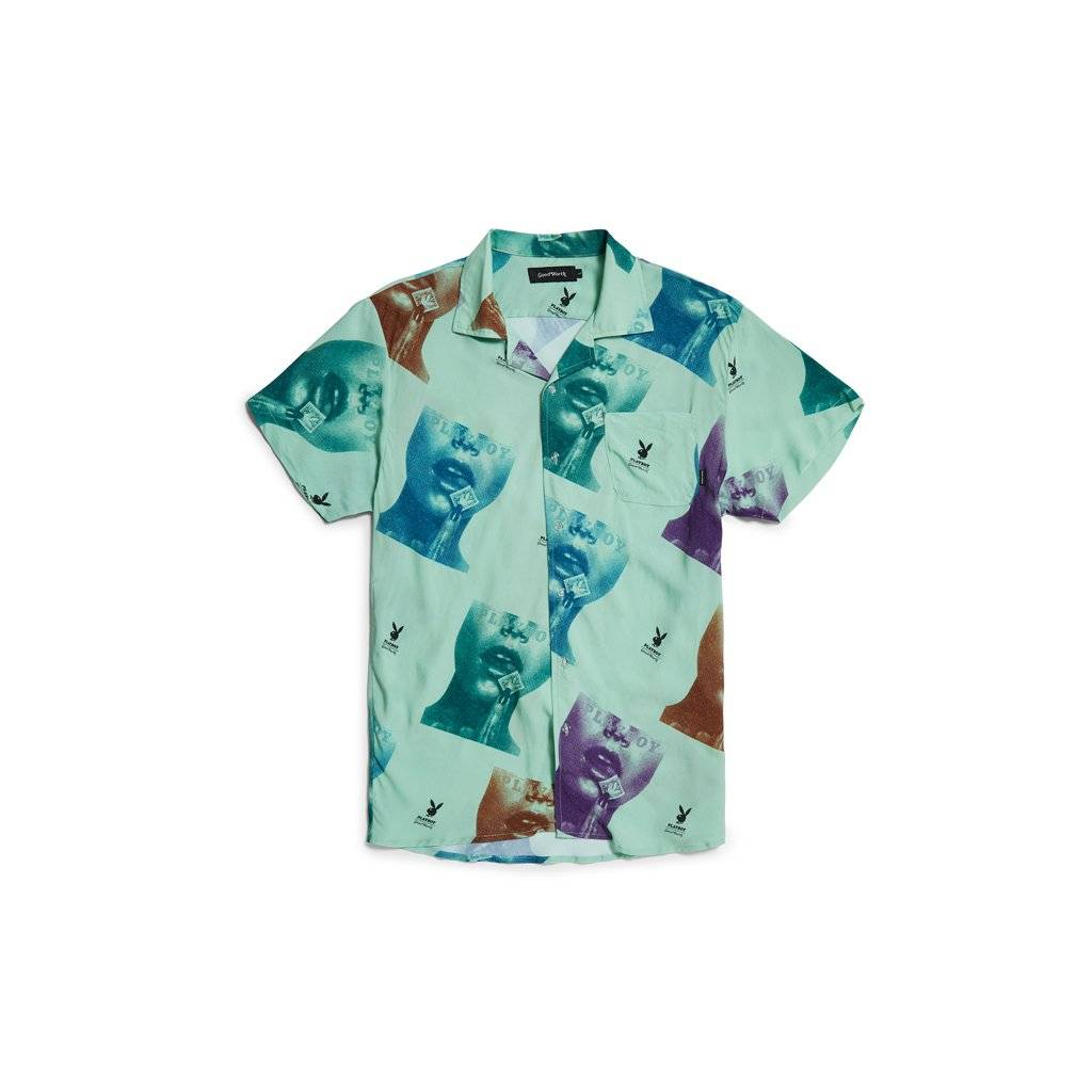 Good Worth & Co Playboy Stamp Button-Up