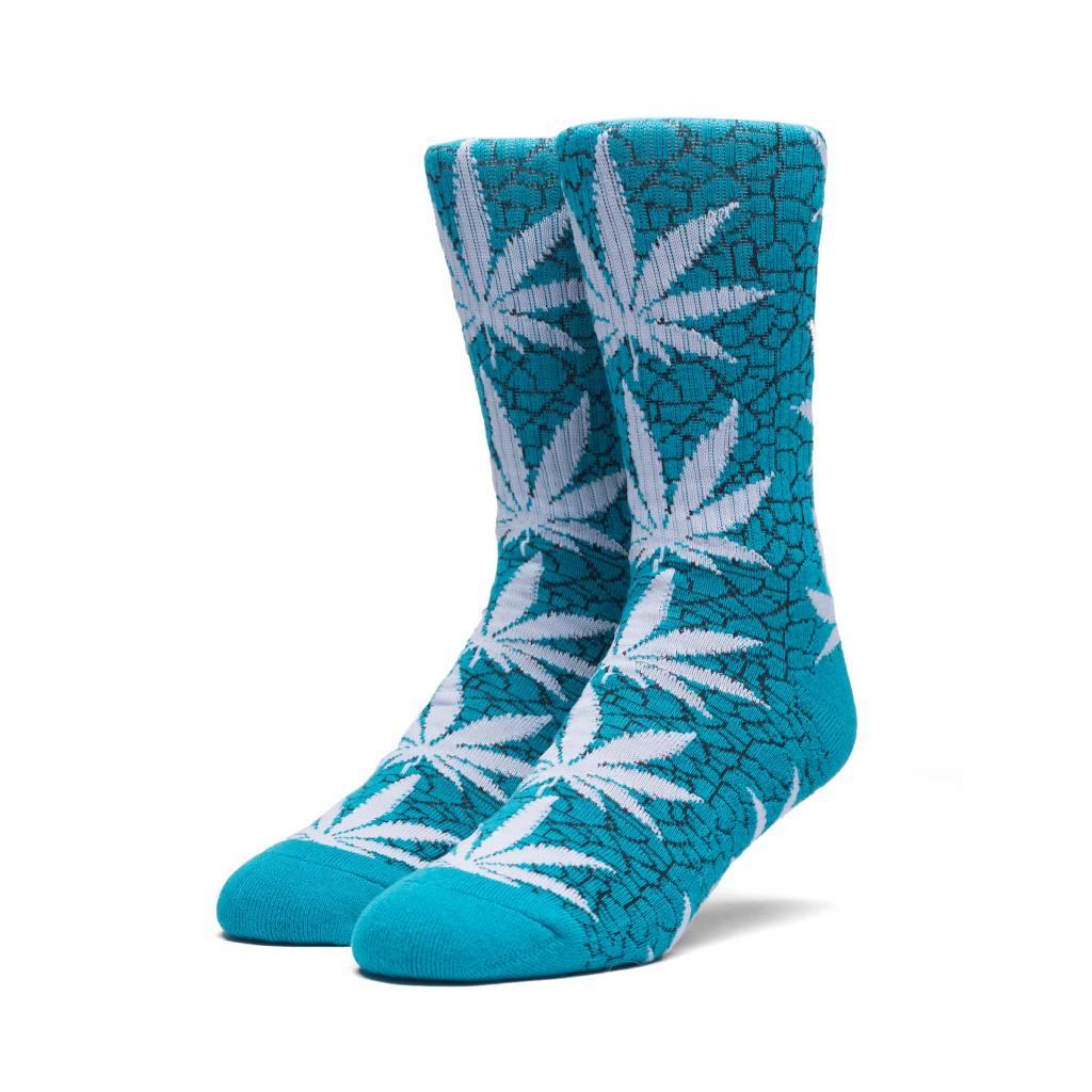 HUF Quake Plantlife Crew Sock Tropical
