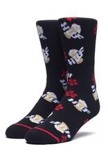 HUF Dive Bar Crew Sock Black