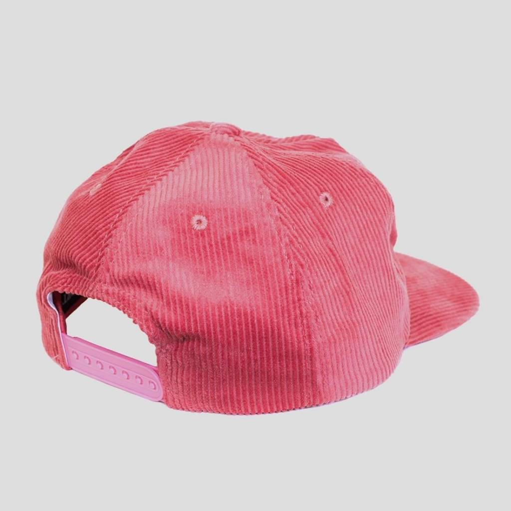 Pass~Port Drunk At Your Wedding Cord Cap Pink