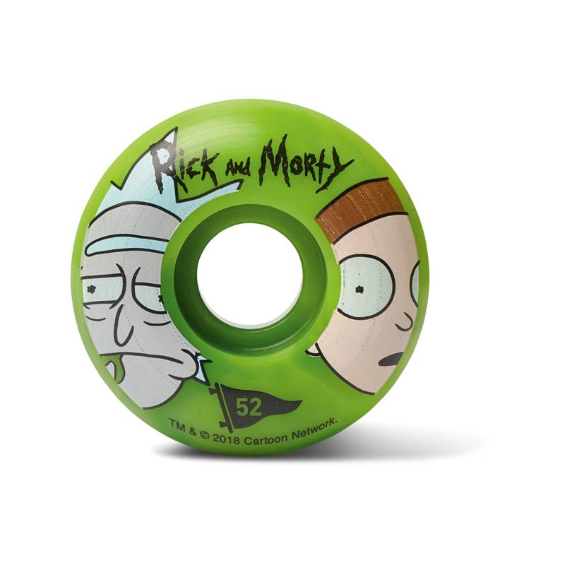 Primitive RnM Green Swirl Wheel 52mm