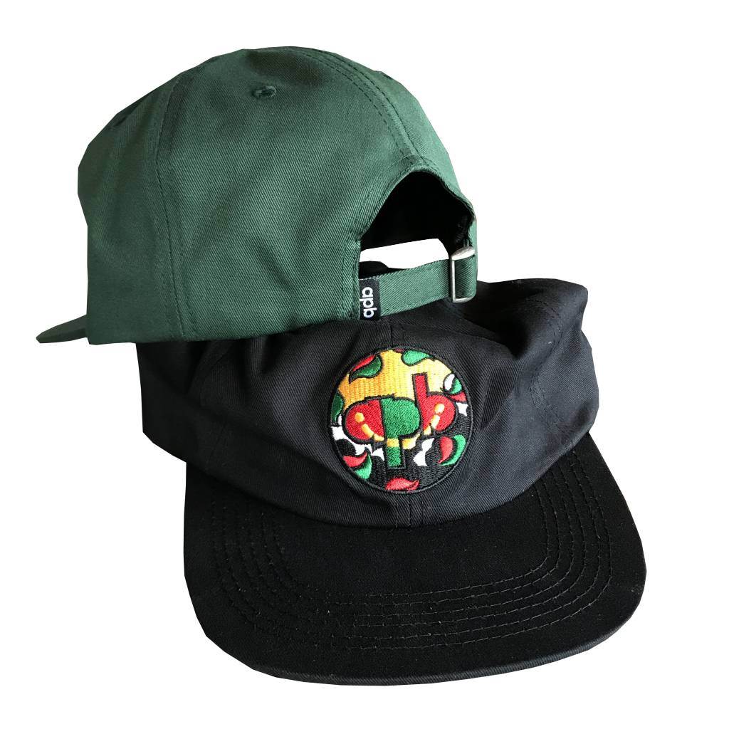 APB Skateshop APB x Hartsel Snapback Black