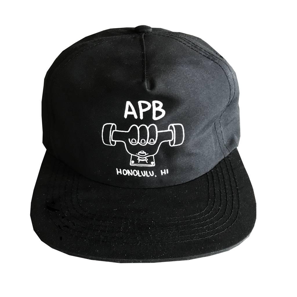 APB Skateshop APB Truckah Hat Black