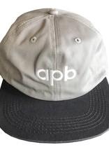 APB Skateshop APB Logo 6-Panel Grey/Dark Grey
