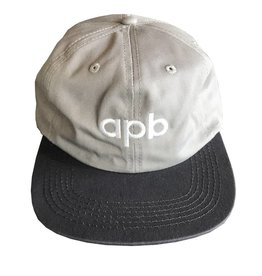 APB Skateshop APB Logo 6-Panel Grey/Dark Grey