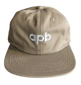 APB Skateshop APB Logo 6-Panel Khaki