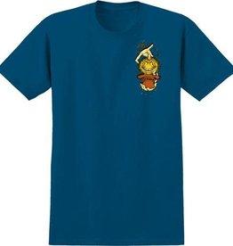 Anti Hero Grimple Stix Royal Yellow Tee