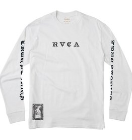 RVCA JeanJean Detention L/S  White