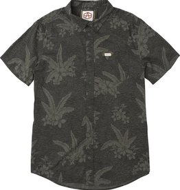 RVCA Reynolds Hawaiian S/S Black