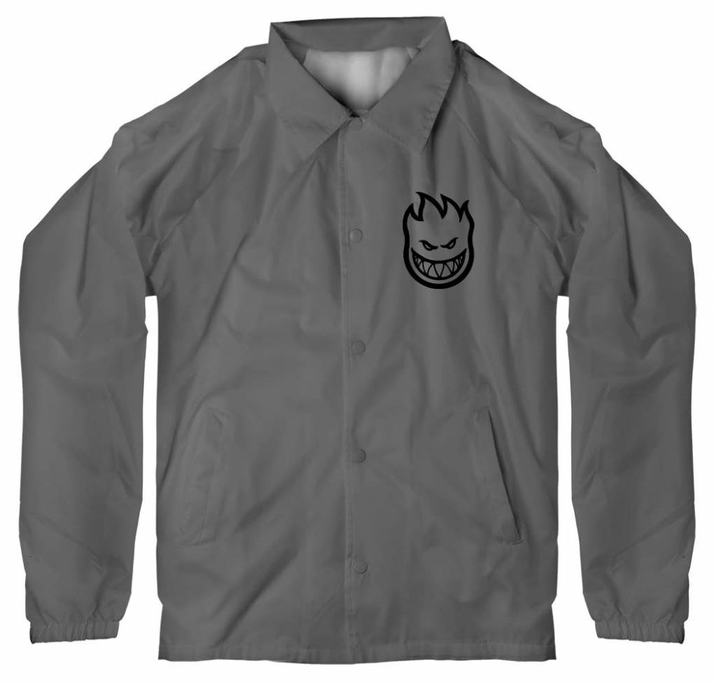 Spitfire Wheels Burn Division Jacket Grey