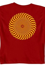 Spitfire Wheels Classic Swirl Red Toddler Tee