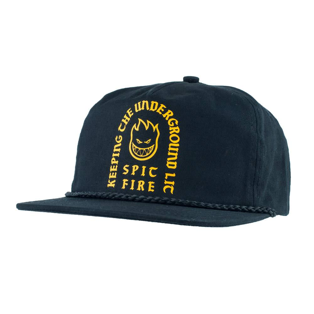 Spitfire Wheels Steady Rockin Black Snapback
