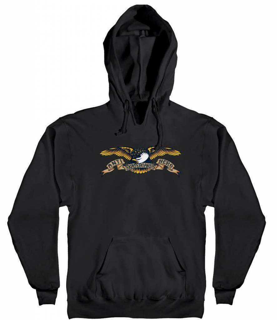 Anti Hero Eagle Black Hoodie