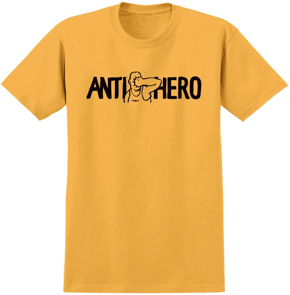 Anti Hero Face Punch Gold Tee